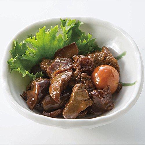 名店の味 お取り寄せグルメ 肉 (マルト 甲府 鳥もつ煮 詰合せ 5袋)