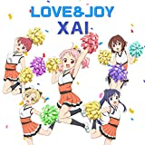 LOVE&JOY♪XAIのCDジャケット