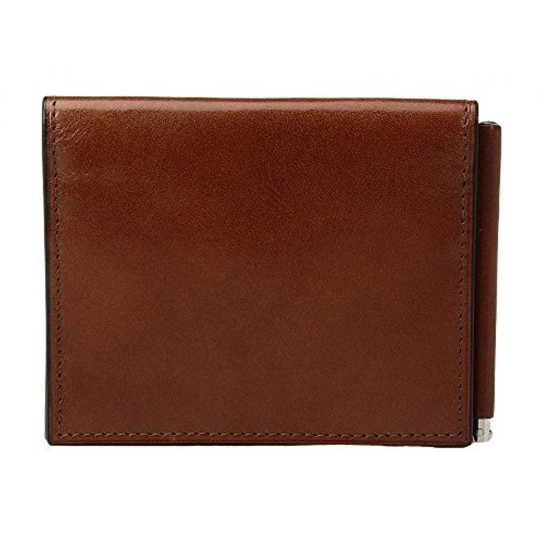 (ボスカ) Bosca メンズ マネークリップ Old Leather Collection - Money Clip w/ Pocket [並行輸入品]