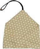 丸十 つなぎ箸用 箸袋 麻の葉 黄 38-11