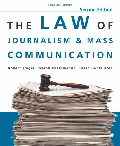 Download The Law of Journalism and Mass Communication 0872899233