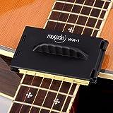 ストリングクリーナー 360度清潔 弦、指板、ギター箱 プラスチック ブラック by LC Prime