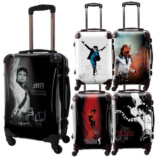 マイケルジャクソンスーツケース/アートスーツケース/フレーム4輪/TSAロック/機内持込可能/キャラート/MichaelJackson/スーパースター/ダンス/CRA01-J00201-14