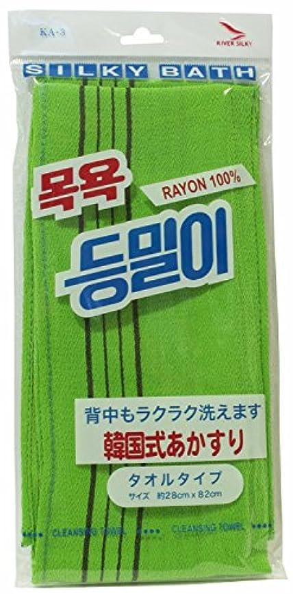 盲信避けるサポート韓国発 韓国式あかすり  タオルタイプ