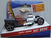 Hot Wheels Lights and Sound Vehicle Rat Bomb