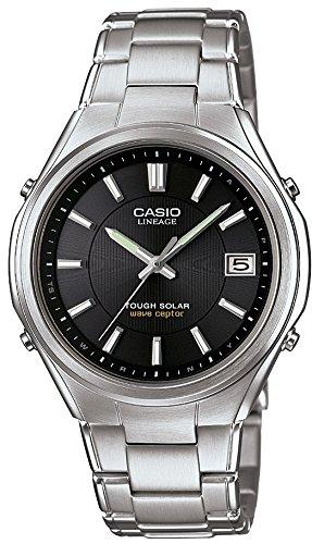 [カシオ]CASIO 腕時計 LINEAGE ソーラー電波 フルメタルアナログウォッチ 簡単アジャストバンド LIW-120DEJ-1AJF メンズ