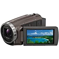 ソニー SONY ビデオカメラ Handycam 光学30倍 内蔵メモリー64GB ブロンズブラウン HDR-PJ680 TI
