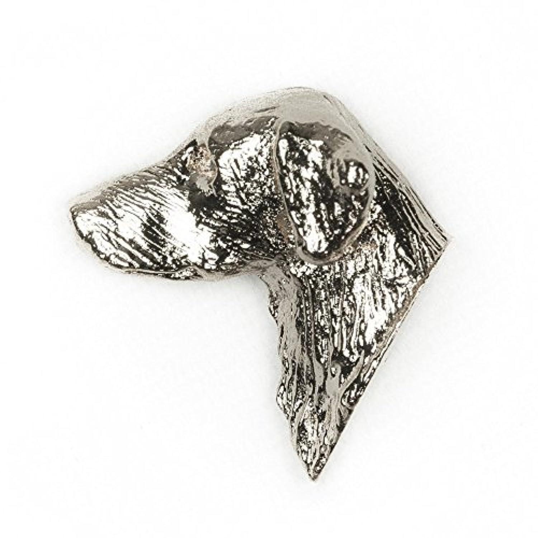 フラットコーテッドレトリバー イギリス製 アート ドッグ ピンバッジ コレクション