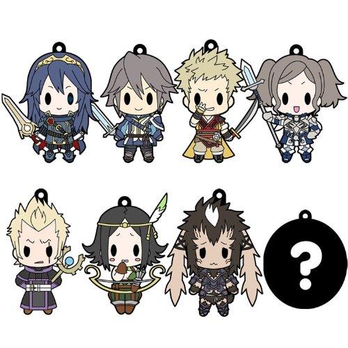 D4 ファイアーエムブレム 覚醒 ラバーキーホルダー all unit collection Vol.2 BOX