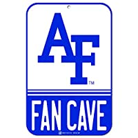 """Air Force Falcons公式NCAA 11"""" x 17""""ファンCaveプラスチック壁サイン11x 17by WinCraft 040596"""