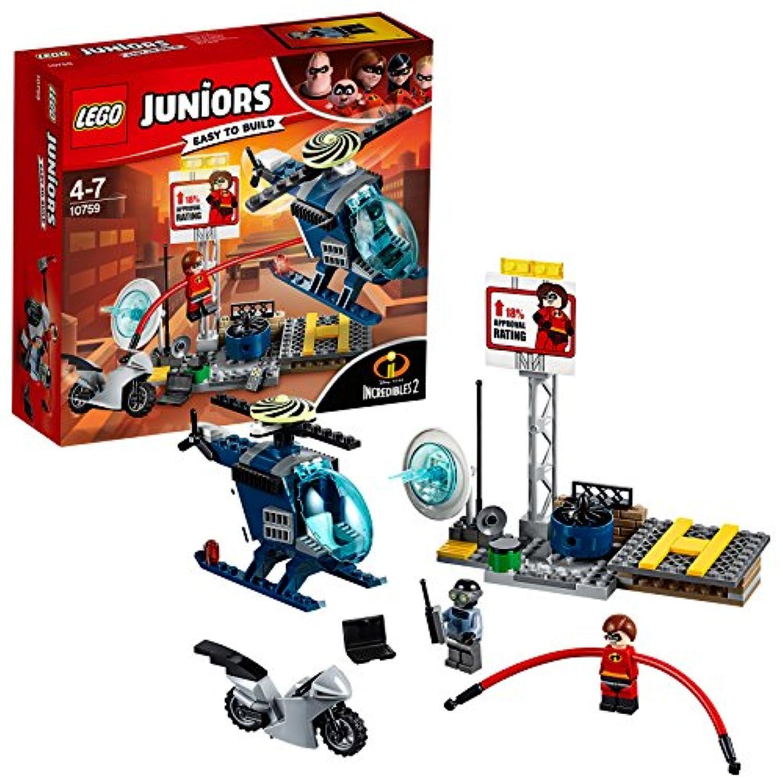 レゴ(LEGO)ジュニア ミセス?インクレディブルの屋根の上の追跡劇 10759