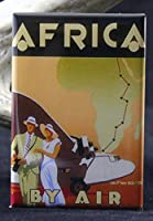Africa by Air冷蔵庫マグネット。