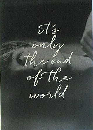 【映画パンフレット】  たかが世界の終わり 監督 グザヴィエ・ドラン キャスト ギャスパー・ウリエル、ヴァンサン・カッセル、レア・セドゥ、マリオン・コティヤール