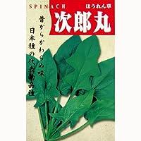 ホウレンソウ 種 【 次郎丸 】 種子 小袋(約1dl)