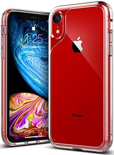 Caseology iPhone XR用ケース Waterfall Series TPU/PC ミリタリーグレード通過(米国防総省ドロップテスト) CO-A18M-FUS-CLR