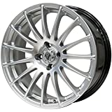 MOMO Tires(モモタイヤ) スタッドレスタイヤ&ホイール NORTH POLE W-2 スタッドレス 225/45R17 HRS(エイチアールエス) 17インチ 4本セット