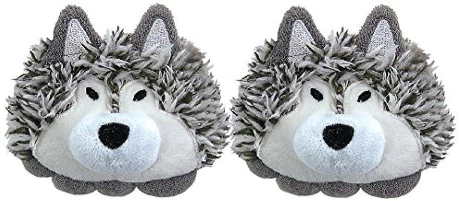 マイクロフォン協会大脳ホルティ 足指セパレーター (両足用2個セット) オオカミ