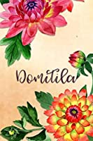 Domitila: Personalized Journal for Her (Su Diario)