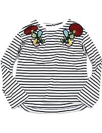 Otonato ワッペンボーダーTシャツ