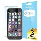 【Spigen】 iPhone6 Plus 対応 液晶保護フィルム 【3枚入】 高透明度 SGP10873 (クリスタル クリア)