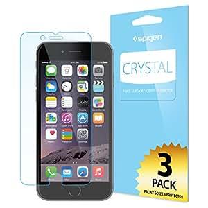 【Spigen】 スマホフィルム i【3枚入り】 Phone6 Plus フィルム [ 3D Touch 液晶保護 透明度 ] アイフォン 6プラス 用 SGP10873 (クリスタル・クリア)