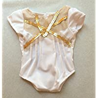 Isabelle White Leotard For 46cm American Girl Dolls. Sold By Trendy Dolls.