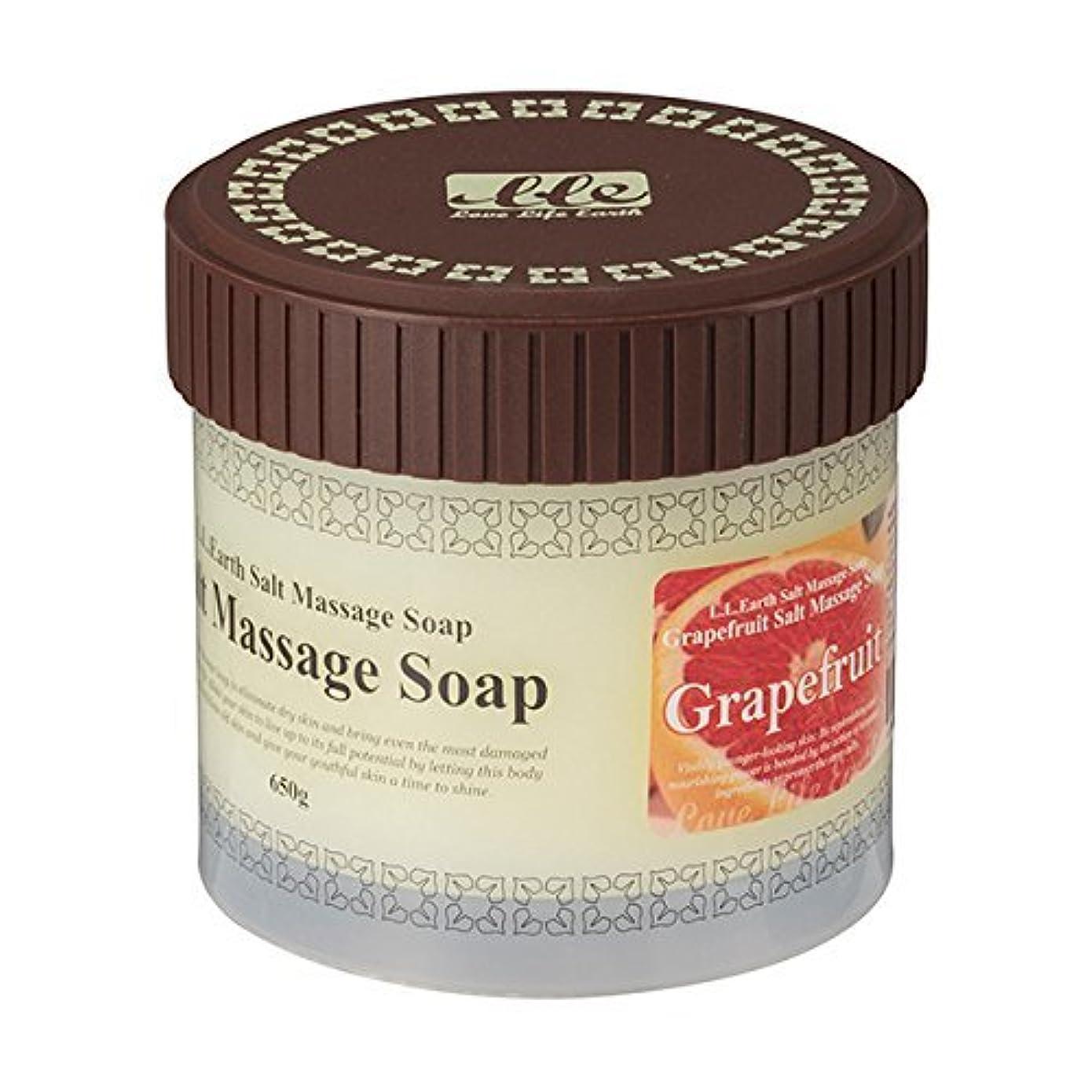 知恵推定アイザックLLE 業務用 ソルトマッサージソープ 650g [選べる香り5種類] ( ボディ用 スクラブ ) グレープフルーツ