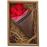 KIZAWA  枯れない花 ソープ フラワー 大切な人 へ 感謝 の 気持ち を 伝える 花束 ( 母の日 ・ バレンタイン ・ ホワイトデー ・ ..