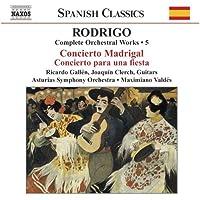 Complete Orchestral Works 5 by RODRIGO (2003-03-18)