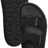 PEOPLE FOOTWEAR (ピープル フットウェア) コンフォートサンダル EVA素材 メンズ レディース LENNON - REALLY BLACK x REALLY BLACK NC04-030