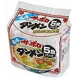 麺のスナオシ サッポロラーメン タンメン 5食入 × 6袋