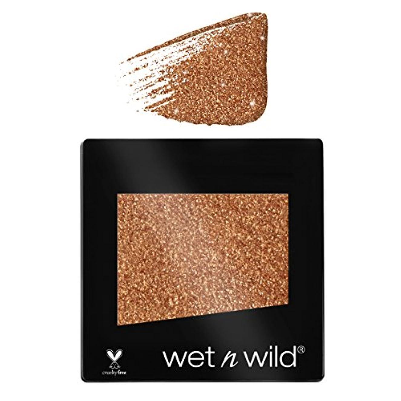 ホームレスヘリコプター推定(3 Pack) WET N WILD Color Icon Glitter Single - Brass (NEW) (並行輸入品)