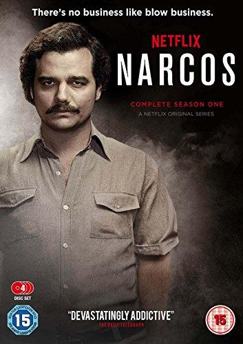 Narcos Season 1 / ナルコス シーズン1 (日本語音声字幕無し) [PAL-UK] [DVD][Import]