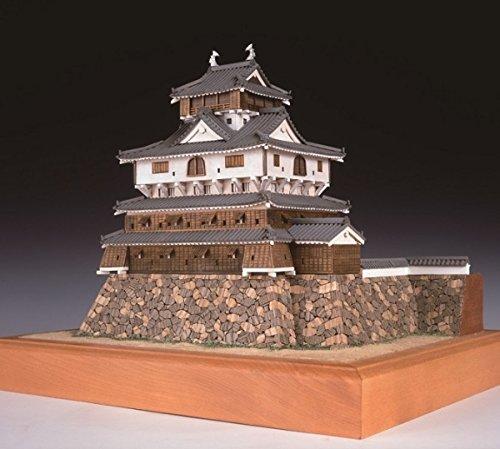 木製日本建築模型 1/150 岩国城   p-6599