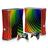 Linyuan 安定した品質 T2027* Skin Decal Wrap Sticker for Microsof XBOX360 SLIM Console+2 Controllers