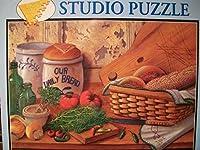 Bits andピーススタジオパズルOur Daily Bread by Linda Lane 1000ピースジグソーパズル