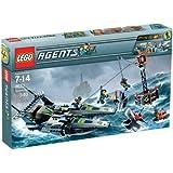 Lego 8633Mission 4: Speedboat Rescue 乐高特工快艇救援