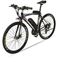 Extrbici RS600 ロードバイク シマノ 21段変速自転車 高強度炭素鋼フレーム LEDヘッドライト付き 特製タイヤ 通勤 通学
