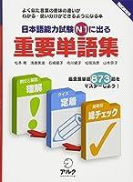 日本語能力試験N1に出る重要単語集