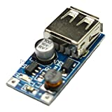 Rasbee オリジナル 電圧ブーストモジュールをステップアップ DC-DC ブルー 0.9-5V to 5v 600mA USB 充電器ブルー Arduino 1個 [並行輸入品]