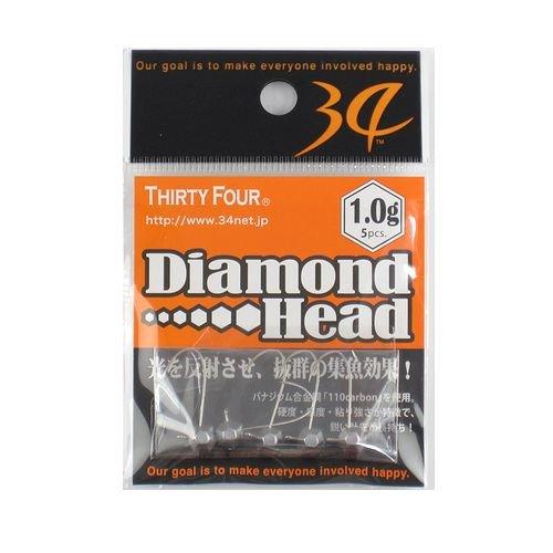 34(サーティーフォー)『ダイアモンドヘッド1.0g』