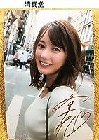 生田絵里子 乃木坂46 写真18枚 サイン入り 水着 下着 セクシー グラビア L版より大きい ハガキサイズ 12
