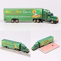 CBPP1/87 スケールミニ · スモールドイツ広告広告メディアコンテナ貨物トレーラー牽引トラック Diecasts おもちゃ車モデル車お土産おもちゃの車のる