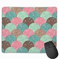 毛糸の絵文字 マウスパッド ゲーミング ゲームオフィス 高級感 おしゃれ 防水 耐久性が良い 滑り止めゴム底 適用 マウスの精密度を上がる