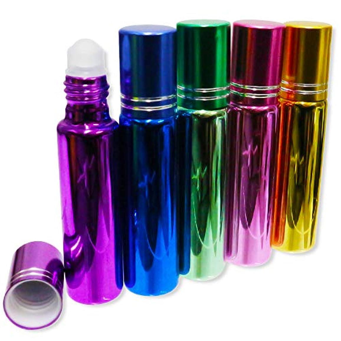 精神的に動く利用可能YUZIRO(ユズイロ)ロールオン ボトル 香水 アロマ 虫よけ 持ち歩き 容器 アトマイザー 10ml