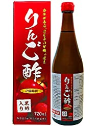 ユウキ製薬 りんご酢黒酢入り 12-24日分 720ml