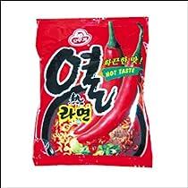 【BOX販売】オトゥギ ヨル(熱)ラーメン 120g X 40個入■韓国食品■冷麺/春雨/ラーメン■オトゥギ