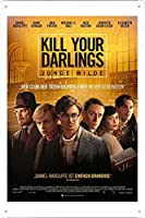 映画の金属看板 ティンサイン ポスター / Tin Sign Metal Poster of Movie Kill Your Darlings #3
