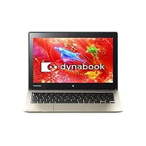東芝 モバイルノートブック dynabook N51サテンゴールド(WIN8.1Update 64Bit/CeleronN2840/4GB/11.6型/Office Home & Business Premium搭載) PN51RGP-NHA