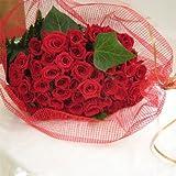 還暦お祝いに 真っ赤なバラの花束60本 【生花】